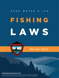 License requirements and fees laws rules fishing for Fishing license maine