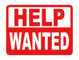 photograph relating to Printable Help Wanted Sign named aid preferred signs or symptoms printable -